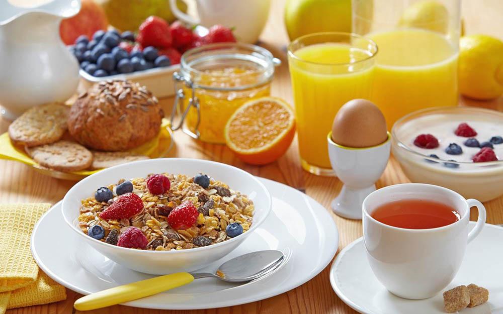 อาหารเช้าที่เหมาะกับคนไม่อยากอ้วน